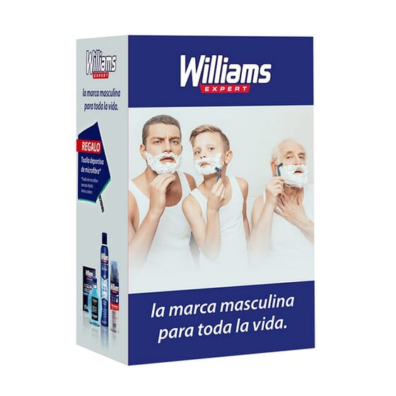 Aqua Velva Lote Aftershave + Espuma + Desodorizante Spray da Williams