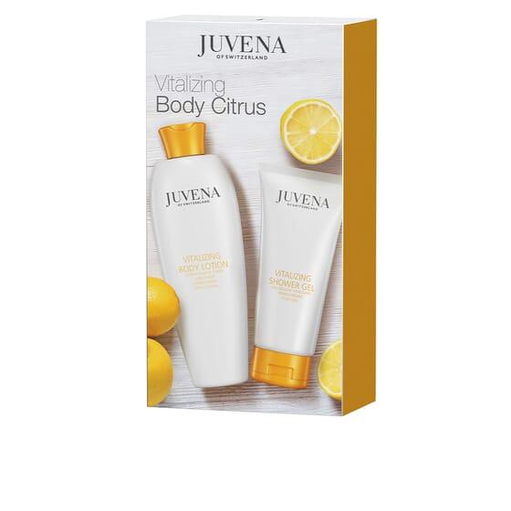 Vitalizing Body Citrus Lote Creme Hidratante + Gel De Duche da Juvena