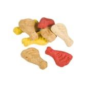 Biscoitos Perninhas Sabor Frango 2.5 Quilos da Nayeco