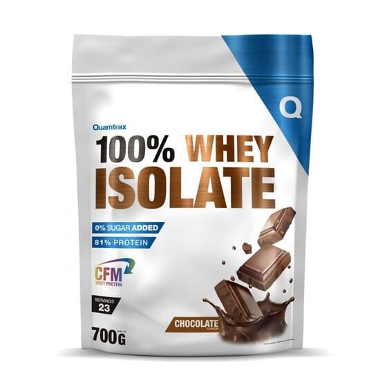 100% Whey Isolate 700g da Quamtrax Direct