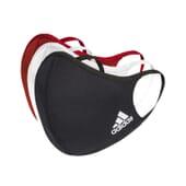 Máscara Adidas Preto/Vermelho/Branco Tamanho M/L da Adidas Sport