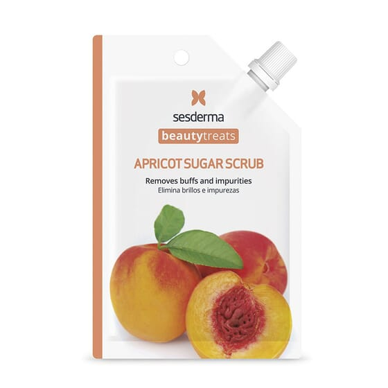 Beauty Treasts Apricot Sugar Scrub Máscara Facial 25 ml da Sesderma