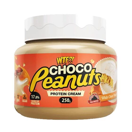 WTF Choco Peanut Protein Cream 250g da Max Protein
