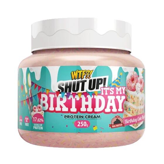 WTF Shut Up! It´s My Birthday Protein Cream 250g da Max Protein
