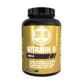 Vitamin D 1000 ui 120 Perlas de Gold Nutrition