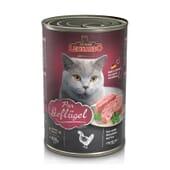 Comida Húmeda Gato Adulto Puro Ave 400g de Leonardo