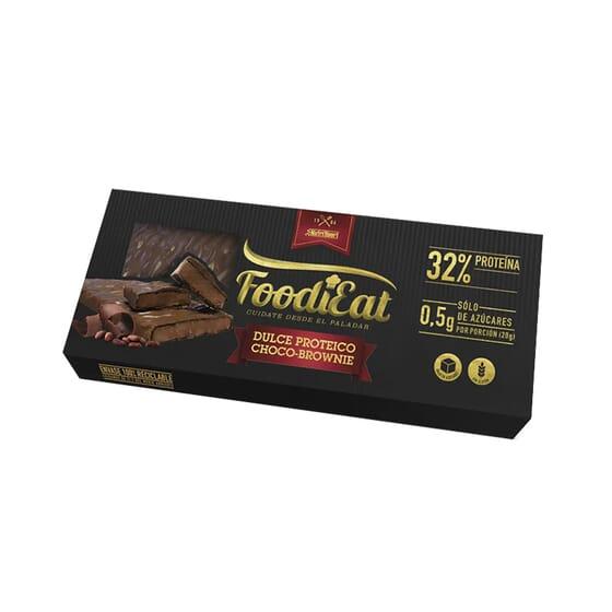 Torrão Proteico Chocolate Brownie 170g da NutriSport