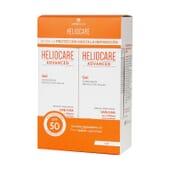 Heliocare Advanced Gel SPF50 200 ml 2 Unds da Heliocare