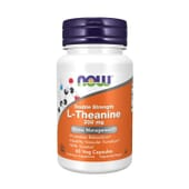 Double Strength L-Theanine 200 mg 60 VCaps di Now Foods