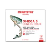 Omega 3 Concentrate 60 Caps de Gold Nutrition