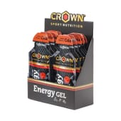 Energy Gel + Cafeína 40g 10 Uds de Crown Sport Nutrition