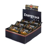 Energy Bar 60g 10 Barras da Crown Sport Nutrition