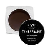 Tame Frame Tinted Brow Pomade Black de NYX