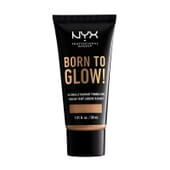 Born To Glow Naturally Radiant Foundation Caramel 30 ml de NYX