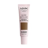Bare With Me Tinted Skin Veil Deep Sable 27 ml de NYX