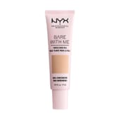 Bare With Me Tinted Skin Veil Natural Soft Beige 27 ml de NYX
