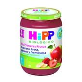 Mes Premiers Fruits Pomme Fraise Banane et Framboise Bio 190g de Hipp