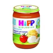 Menu Junior Spaghettis à la Tomate et Mozzarella Bio 190g de Hipp