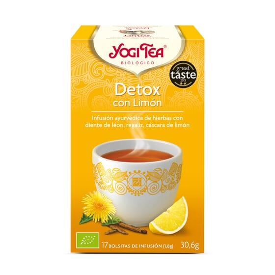Detox Con Limón Bio 17 Infusiones de Yogi Tea