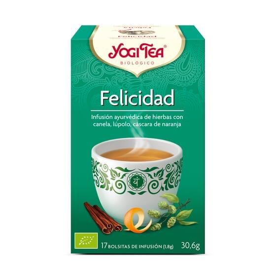 Felicidad Bio 17 Infusiones da Yogi Tea