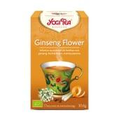 Ginseng Flower Bio 17 Infusiones da Yogi Tea