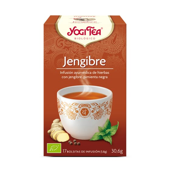 Jengibre Bio 17 Infusiones de Yogi Tea