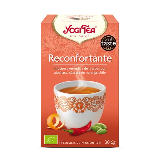 Reconfortante Bio 17 Infusiones de Yogi Tea