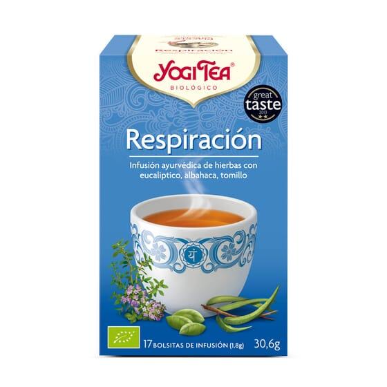 Respiracion Bio 17 Infusiones da Yogi Tea