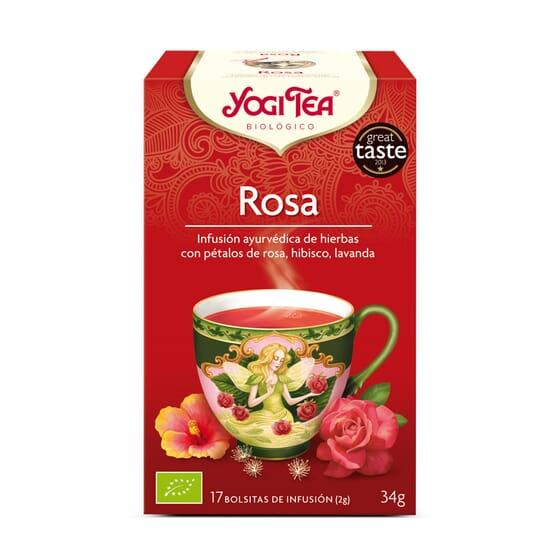ROSE BIO 17 Sachets - YOGI TEA