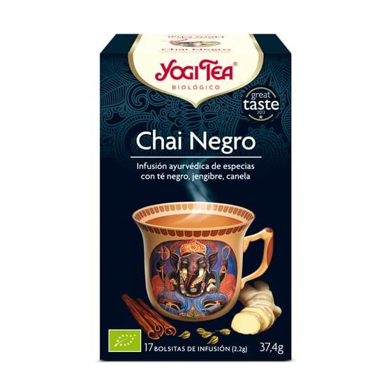 Chai Negro Bio 17 Infusiones de Yogi Tea