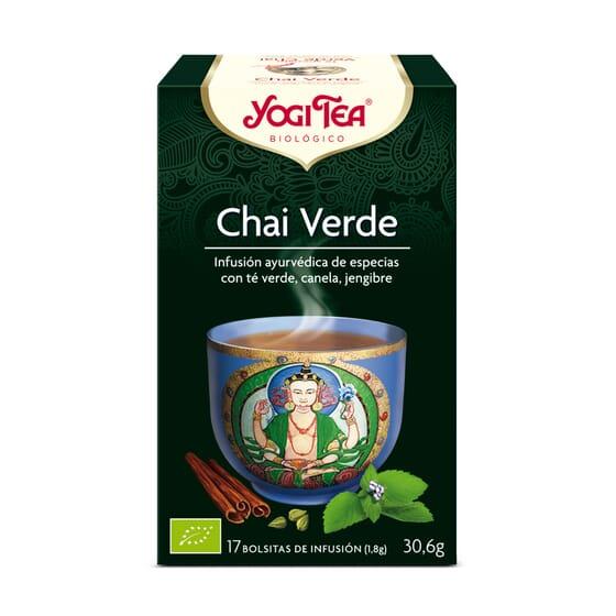 Chai Verde Bio 17 Infusiones da Yogi Tea