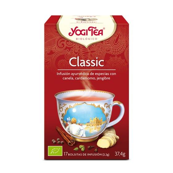 Classic Canela Y Especies Bio 17 Infusiones da Yogi Tea