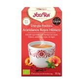 Energia Positiva Arandanos Hibisco Bio 17 Infusiones da Yogi Tea