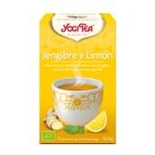 Jengibre Y Limón Bio 17 Infusiones de Yogi Tea