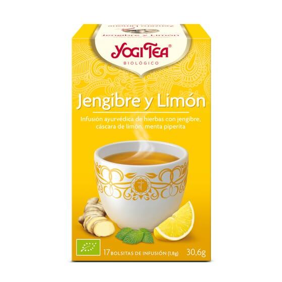 Jengibre Y Limon Bio 17 Infusiones da Yogi Tea