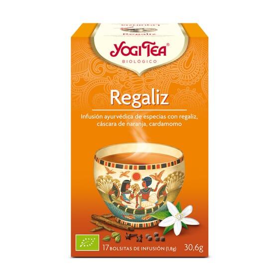 Regaliz Bio 17 Infusiones da Yogi Tea