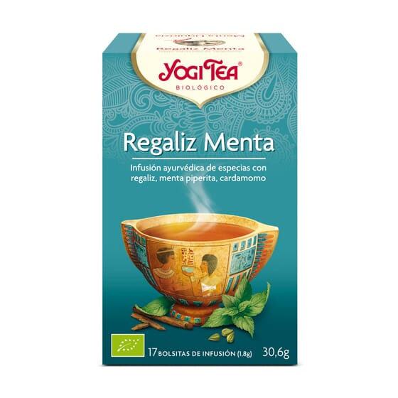 Regaliz Menta Bio 17 Infusiones da Yogi Tea