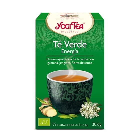 Te Verde Energia Bio 17 Infusiones da Yogi Tea