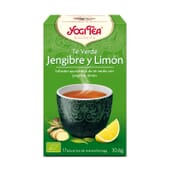 Te Verde, Jengibre Y Limón Bio 17 Infusiones de Yogi Tea
