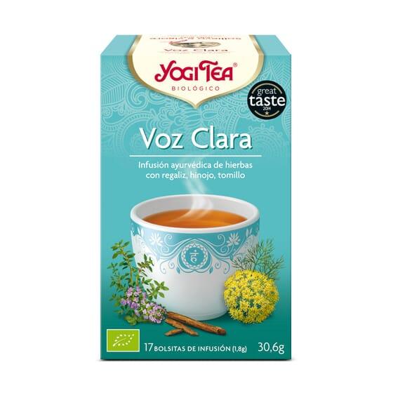 Voz Clara Bio 17 Infusiones de Yogi Tea