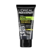 MEN EXPERT pure charcoal mascarilla arcilla 50 ml de L'Oreal Paris