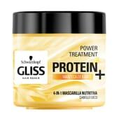 GLISS PROTEIN+ mascarilla nutrición cabello seco 400 ml de Schwarzkopf
