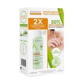 Exomega Control Gel Detergente 2 in 1 500 ml 2 Unità di A-Derma