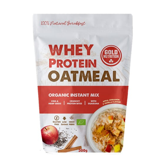 Whey Protein Oatmeal 300g de Gold Nutrition