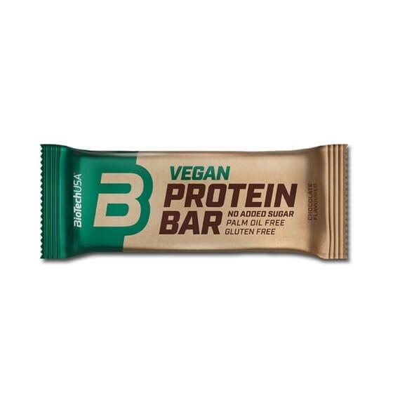 Vegan Protein Bar 50g 20 Barritas de Biotech USA