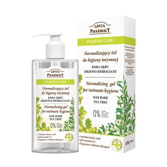 Gel Higiene Íntima Corteza De Roble Y Árbol De Té 300 ml de Green Pharmacy