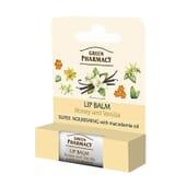 Balsamo Labbra Miele e Vaniglia Super Nutriente di Green Pharmacy