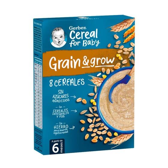 Grain Grow 8 Cereales 250g de Gerber