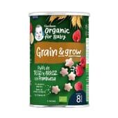 Grain Grow Puffs De Trigo Y Arroz Con Frambuesa Bio 35g de Gerber