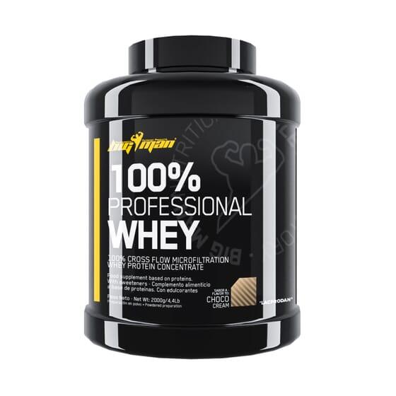 100% Professional Whey 2 Kg de Bigman